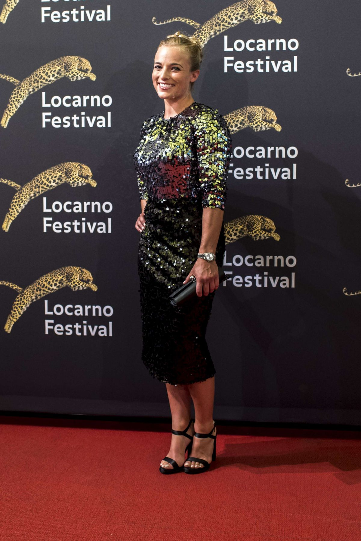 LARA GUT at 70th Locarno Festival in Locarno 08/04/2017