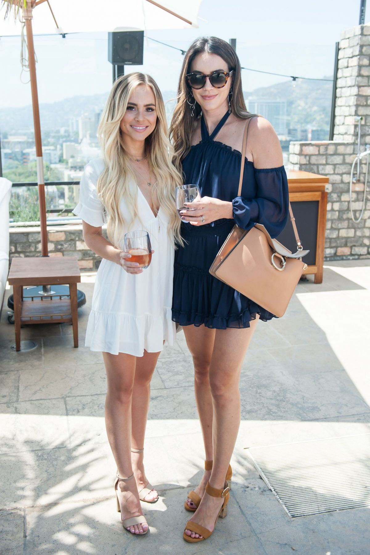 Lauren Bushnell And Amanda Stanton At Sole Society Toasts Friends Fall Fashion In Los Angeles