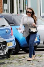 LAUREN GOODGER Out and About in Essex 08/09/2017