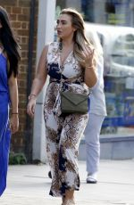 LAUREN GOODGER Out and About in Essex 08/30/2017