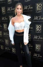 LAUREN POPE at Hot Fire Signature Smoky Eye Shadow Palette Launch in Dublin 08/24/2017