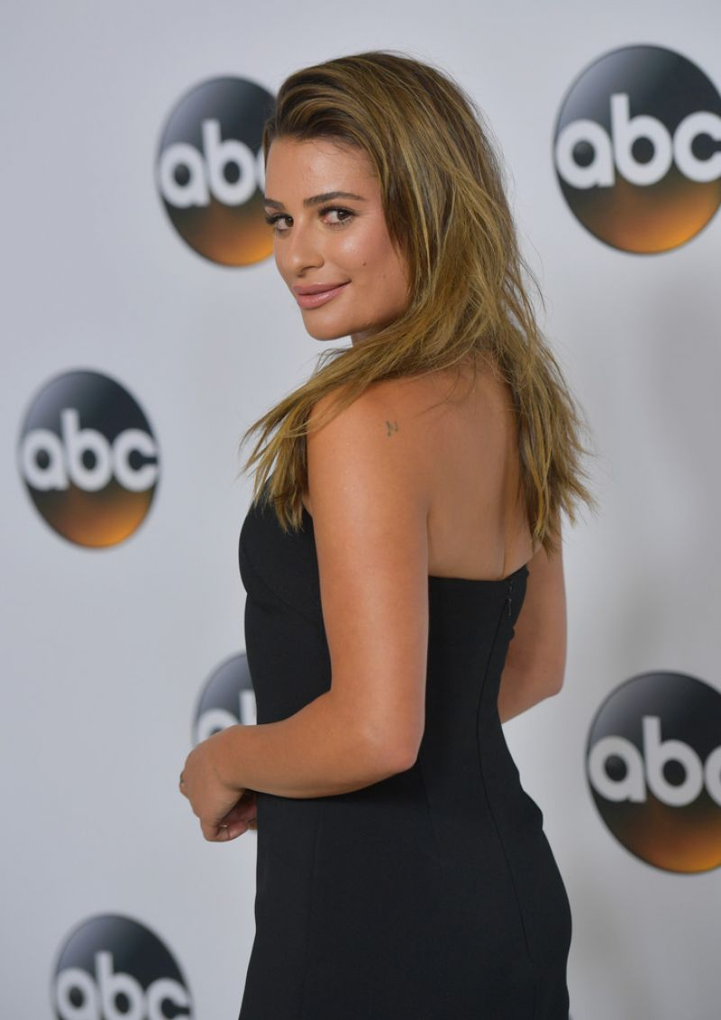 LEA MICHELE at 2017 Summer TCA Tour in Beverly Hills 08/06/2017