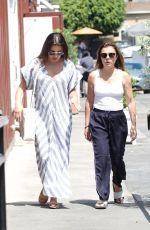 LEA MICHELE Out Shopping in Brentwood 08/20/2017