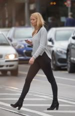 LEAH COSTA Out and About in Melbourne 08/17/2017