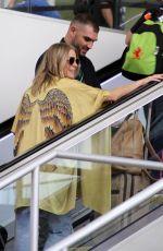 LEANN RIMES at Los Angeles International Airport 08/16/2017
