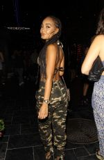 LEIGH-ANNE PINNOCK at the Highlight Room in Los Angeles 08/05/2017