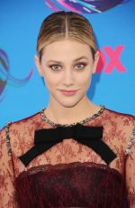 LILI REINHART at Teen Choice Awards 2017 in Los Angeles 08/13/2017