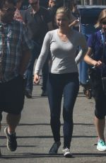 LILI REINHART on the Set of Riverdale in Vancouver 08/25/2017