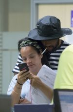 LILY ALLEN at Airport in Ibiza 08/17/2017