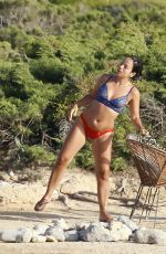 LILY ALLEN in Bikini at a Beach in Ibiza 08/18/2017
