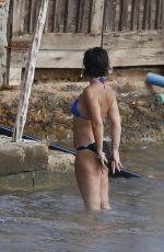LILY ALLEN in Bikini on the Beach in Ibiza 08/15/2017