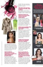 LILY COLLINS in Seventeen Magazine, Mexico September 2017