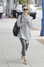 LILY COLLINS Out and About in Beverly Hills 08/24/2017