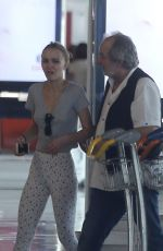 LILY-ROSE DEPP at Roissy Charles De Gaulle Airport in Paris 08/27/2017