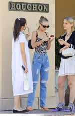 LILY-ROSE DEPP Out for Lunch in Beverly Hills 08/22/2017