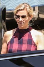 LINDSAY SHOOKUS Out and About in Los Angeles 08/29/2017