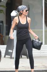 LISA RINNA Leaves Yoga Class in Los Angeles 08/23/2017