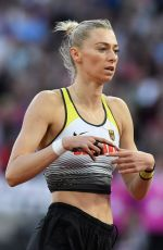 LISA RYZIH at Women's Pole Vault Final at IAAF World Championships in London 08/06/2017