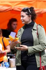 LISA SNOWDON at South Gloucestershire Show in Bristol 08/05/2017