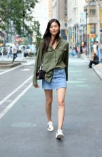 LIU WEN at 2017 Victoria's Secret Fashion Show Casting in New York 08/21/2017