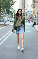 LIU WEN at 2017 Victoria's Secret Fashion Show Casting in New York 08/21/2017