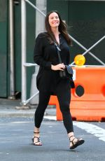 LIV TYLER Out and About in New York 08/20/2017