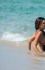 LIZIANE GUTIERREZ in Swimsuit at a Beach in Miami 08/14/2017