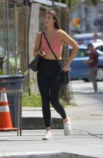 LORENA RAE Heading to a Gym in New York 08/20/2017