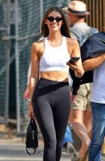 LORENA RAE in Tights Out in New York 08/28/2017