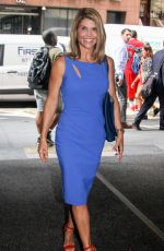 LORI LOGHLIN at Today Show in New York 08/03/2017