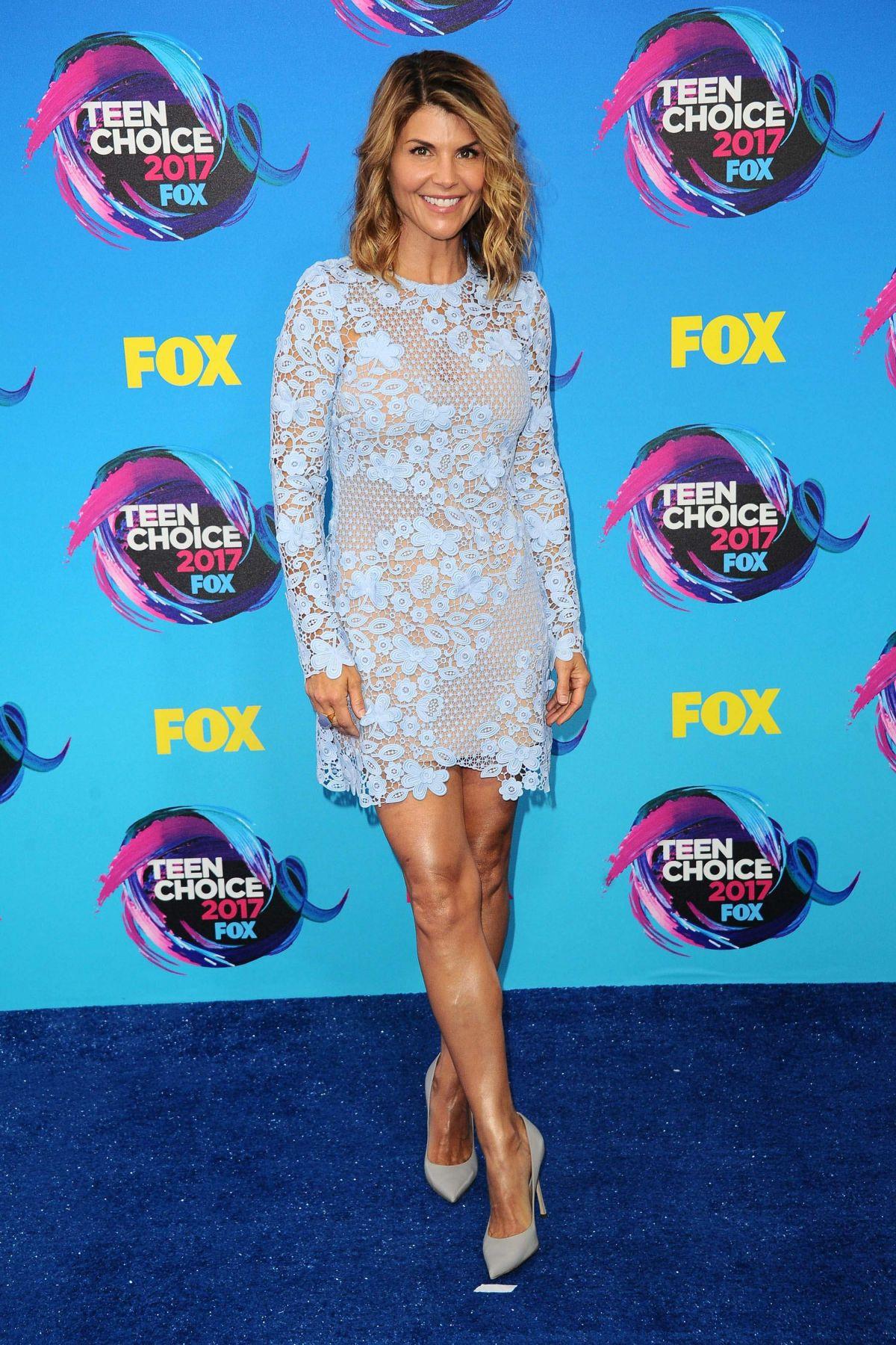 LORI LOUGHLIN at Teen Choice Awards 2017 in Los Angeles 08/13/2017