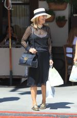 LORI LOUGHLIN Out Shopping in Beverly Hills 08/08/2017