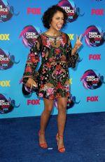 LISA KOSHY at 2017 Teen Choice Awards in Los Angeles 08/13/2017