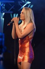LOUISA JOHNSON Performs at Manchester Pride Festival 08/27/2017