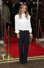 LOUISE REDKNAPP at Evita Press Night in London 08/02/2017