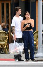 LOURDES LEON Out Shopping in New York 08/07/2017