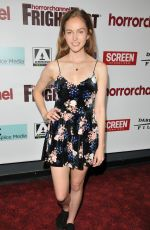 LUCY CHAPPELL at Mayhem Premiere at Horror Channel Frightfest in London 08/27/2017