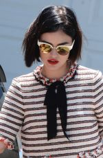 LUCY HALE at Instyle's Day of Indulgence Party in Brentwood 08/13/2017