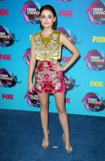 LUCY HALE at Teen Choice Awards 2017 in Los Angeles 08/13/2017