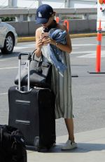 LUCY HALE at Vancouver International Airport 08/12/2017