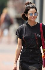 LUCY HALE Out Shopping in Vancouver 08/06/2017