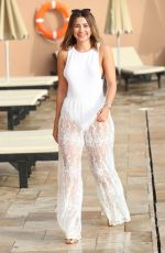 MADDIE HOOPER at The Only Way is Essex Cast in Marbella 08/08/2017