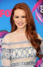 MADELAINE PETSCH at Teen Choice Awards 2017 in Los Angeles 08/13/2017