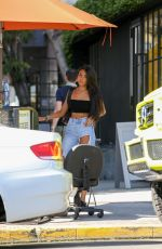 MADISON BEER Leaves Nine Zero One Salon in West Hollywood 08/10/2017