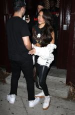 MADISON BEER Leaves Peppermint Club in West Hollywood 08/28/2017