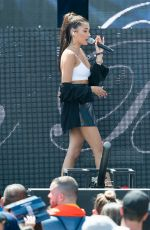 MADISON BEER Performs at Y100 Mack-a-pooloza Party in Miami 08/19/2017