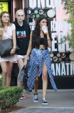 MADISON BEER Shopping at Mac Cosmetics in Los Angeles 08/14/2017