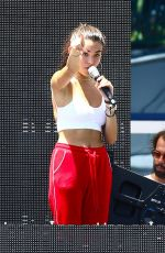 MADISON BEER Soundcheck at Y100 Electric Mack-a-poolooza in Miami 08/19/2017