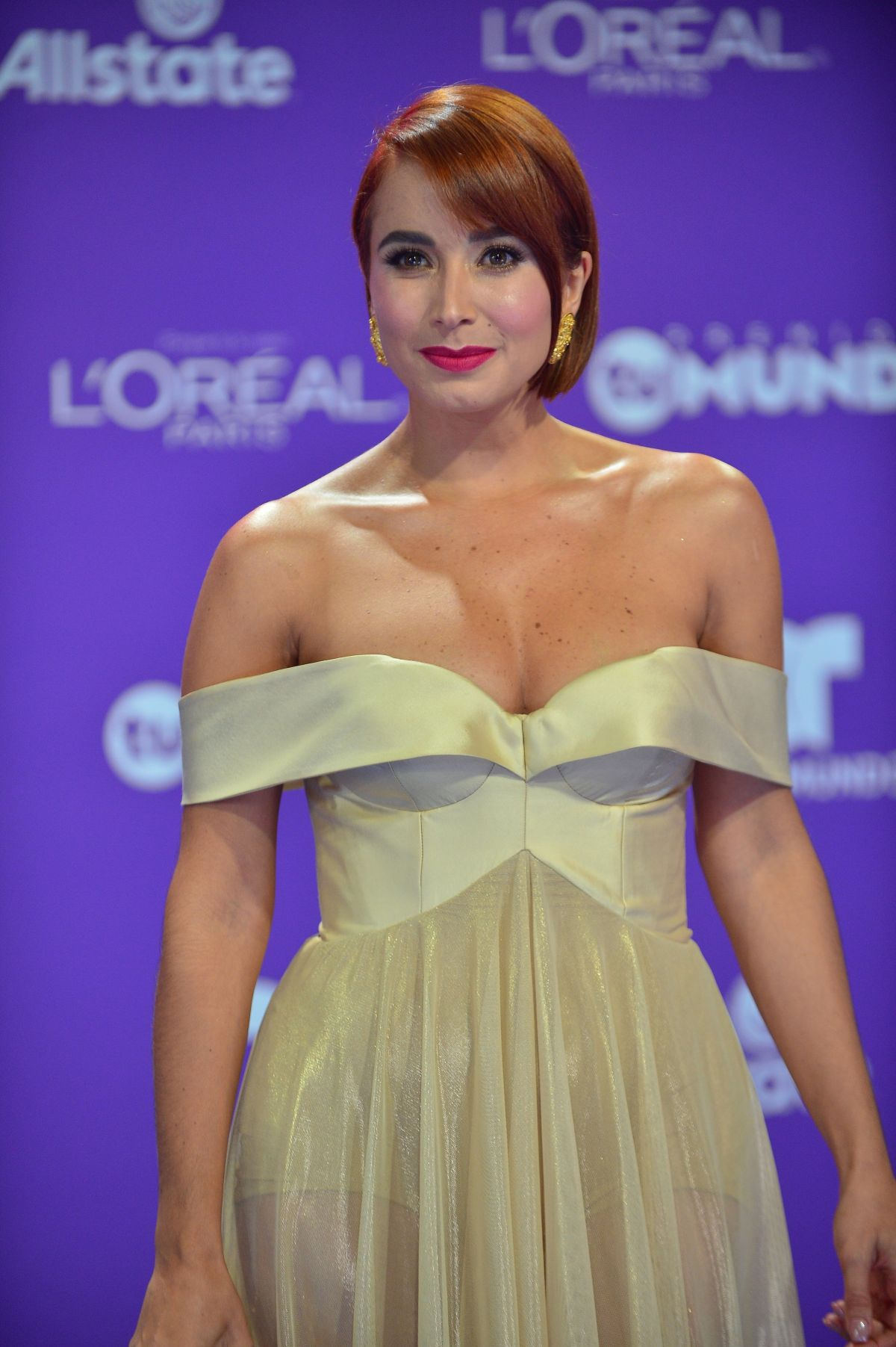 MAJIDA ISSA at Telemundos 2017 Premios tu Mundo at in