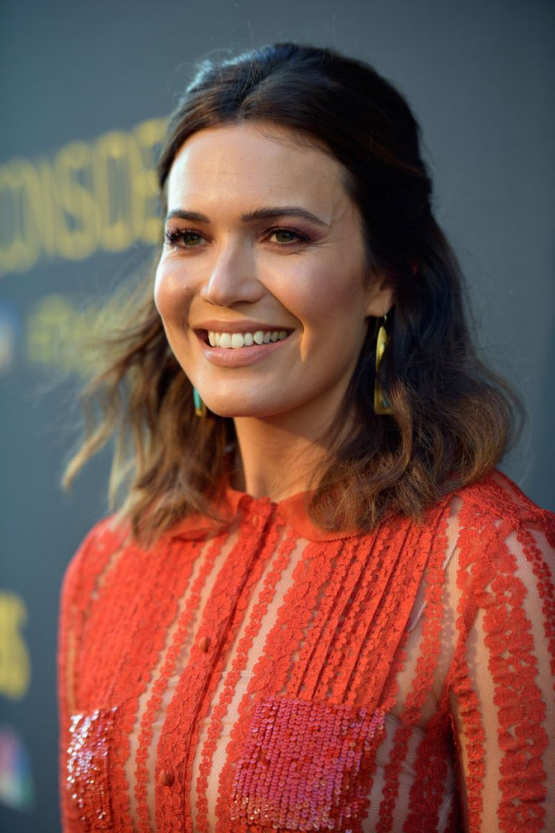 MANDY MOORE at This Is Us FYC Panel in Hollywood 08/14/2017